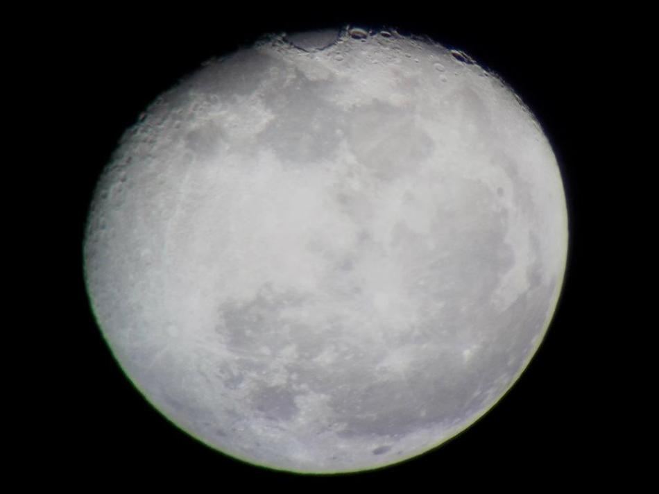 March 11, 2012 - Gibbous Moon - Astrophotography