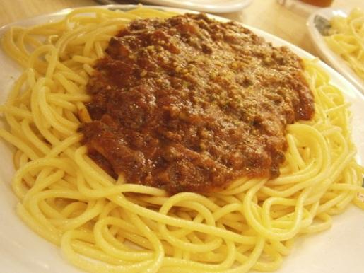 spaghetti bigoli trinoma quezon city manila philippines