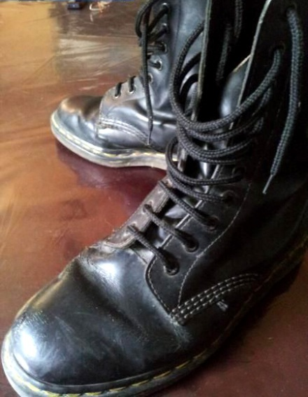 Black 10-hole Doc Martens boots - Manila, Philippines