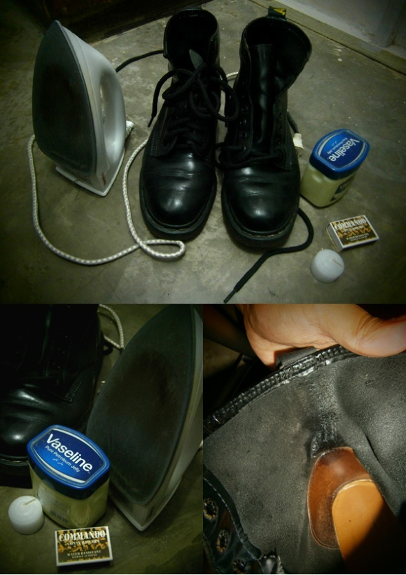 Taming the Doc Martens boots with these materials!
