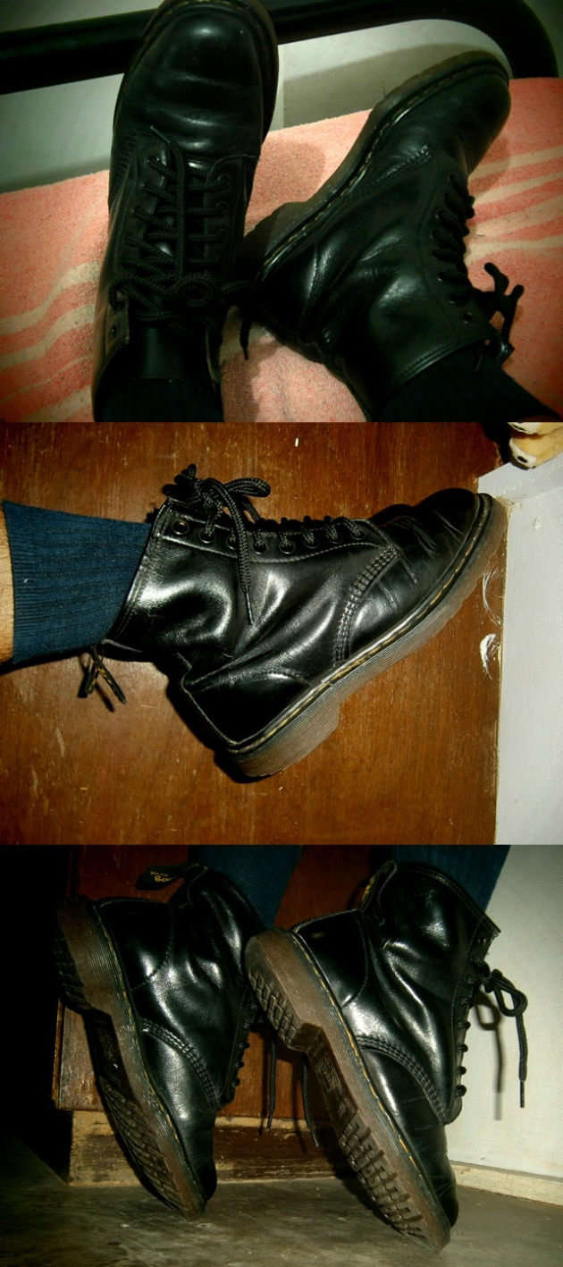 Worn these boots to bed, pointed my toes and even stood on my tippy-toes! - Manila, Philippines