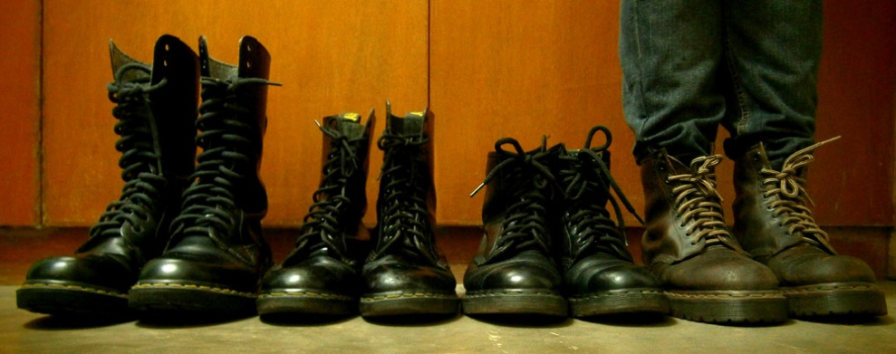 Doc Martens group shot! Serious Doc Martens obsession! - Manila, Philippines
