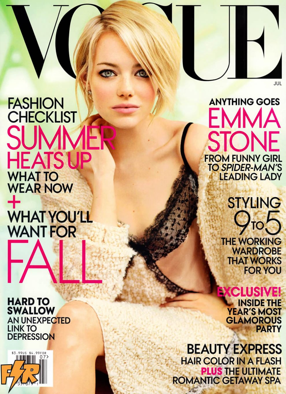 US Vogue July 2012 - Emma Stone