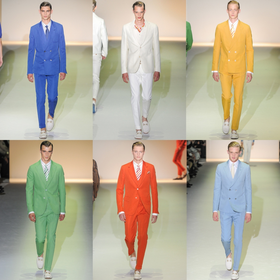 Skittles suit from Gucci Spring/Summer 2013