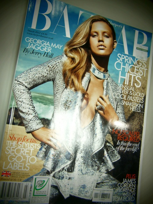 Fashion style Frost georgia uk harpers bazaar september for woman