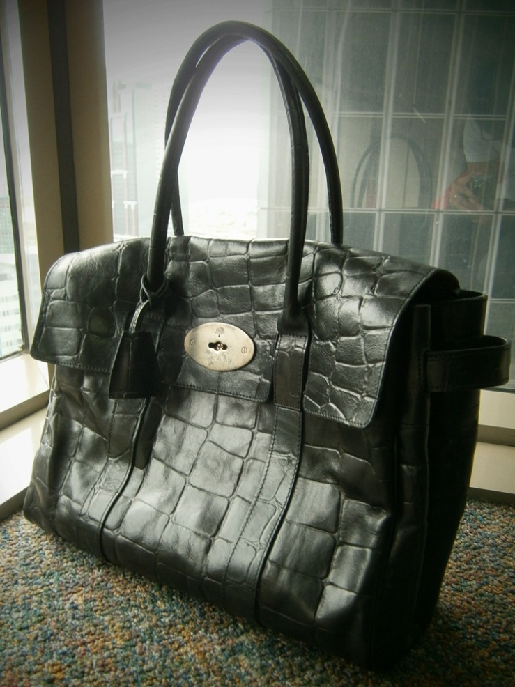 Mulberry Bayswater in Congo Leather - Manila, Philippines
