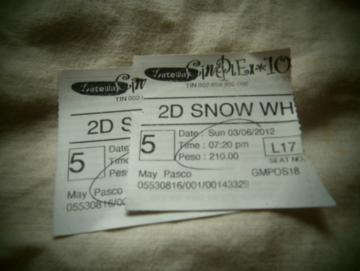snow white and the huntsman tickets gateway mall cubao