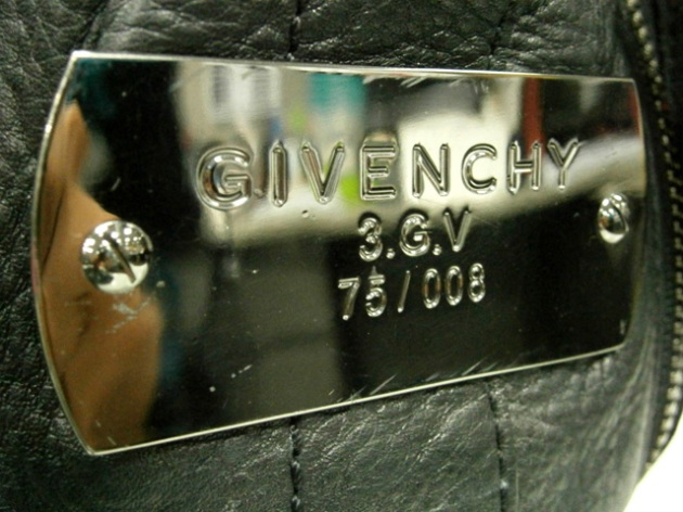 givenchy luggage duffel bag metal plaque manila philippines