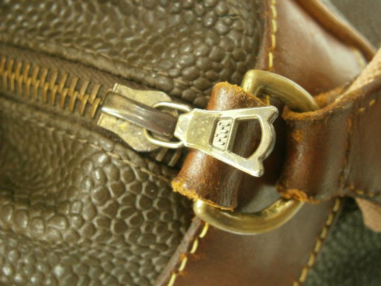 RIRI zipper - vintage Mulberry Scotchgrain messenger bag manila philippines