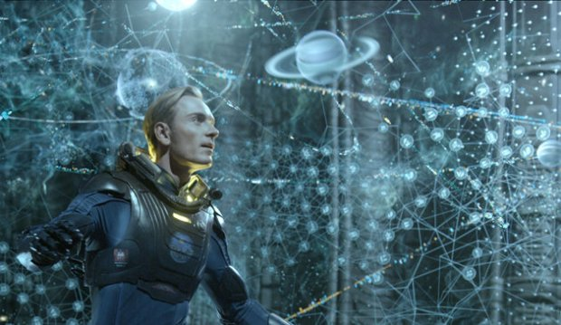 michael fassbender prometheus star map planetarium hologram