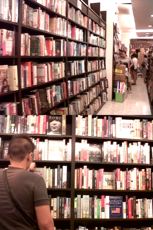 fully booked bookstore gateway mall cubao quezon city books manila philippines