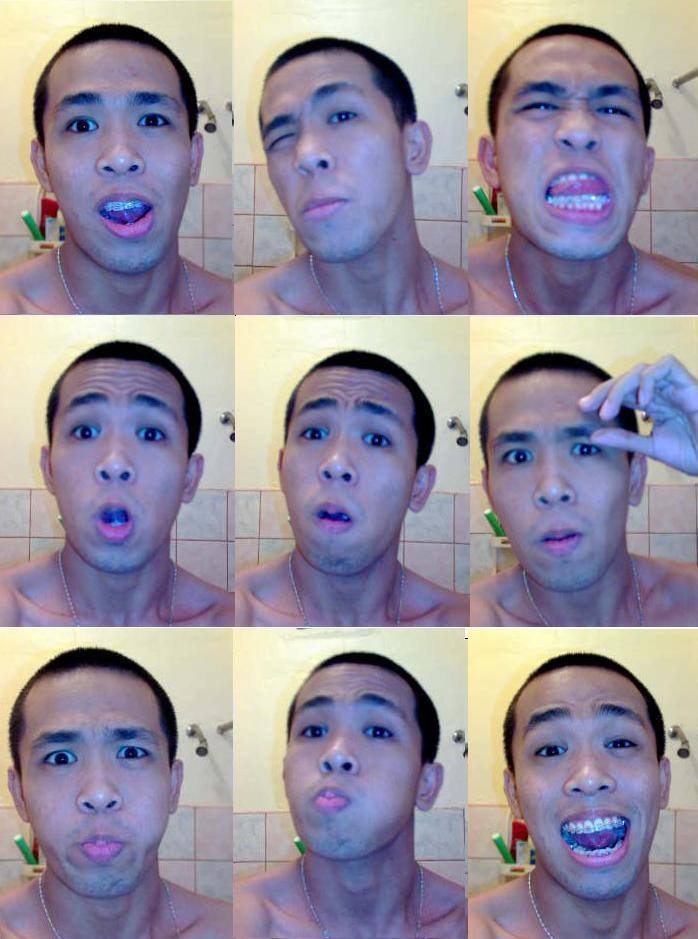 To buzz or not to buzz --- almost no hair back in 2008, when I still had better expressions LOL