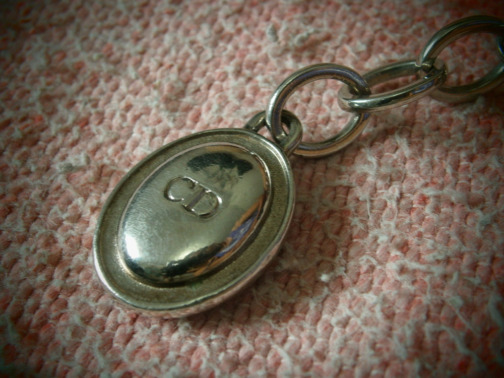 Lady Dior engraved zipper pull - Manila, Philippines