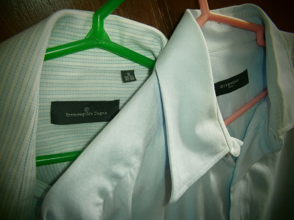 Ermenegildo Zegna and Givenchy Paris dress shirts - Manila, Philippines