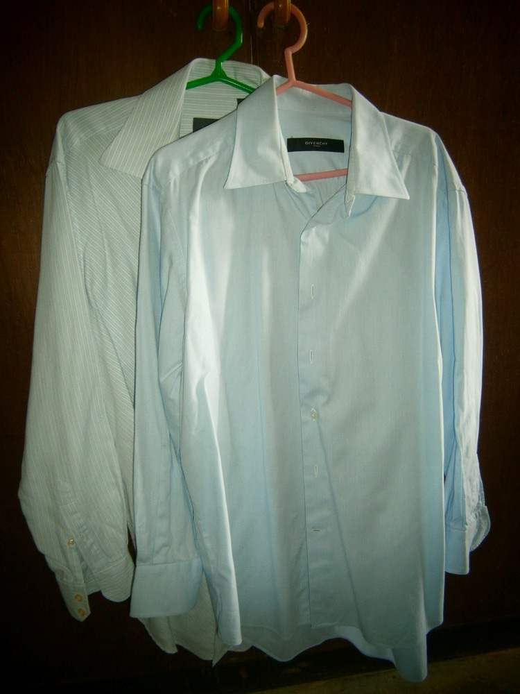 Ermenegildo Zegna and Givenchy Paris dress shirts - longsleeves Manila, Philippines