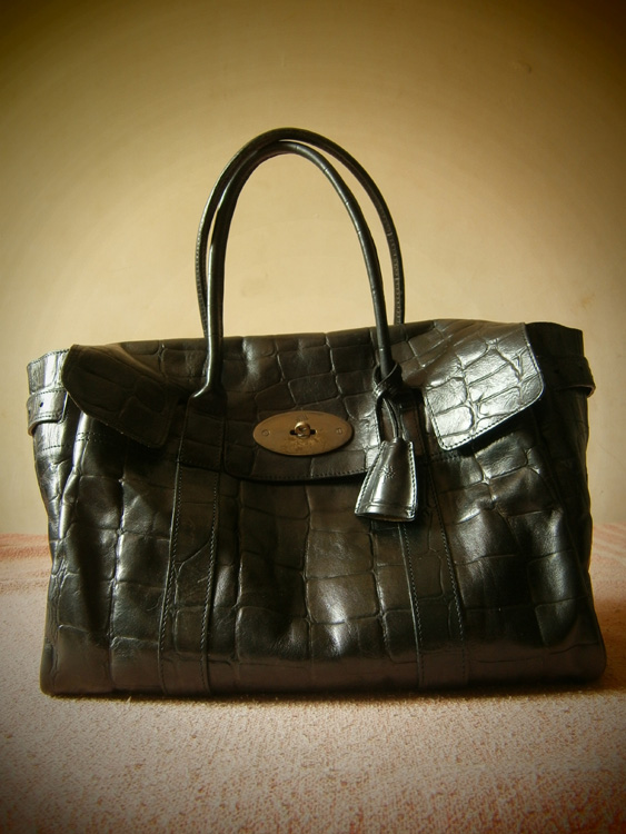 Official portrait of this Mulberry Bayswater in Congo Leather - Manila, Philippines