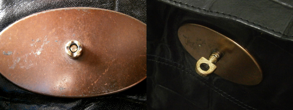 Mulberry Bayswater Postman's Lock repair - Before and After, Manila, Philippines