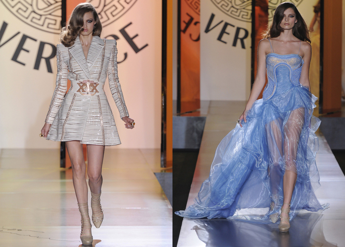 Atelier Versace Fall/Winter 2012: Lindsey Wixson