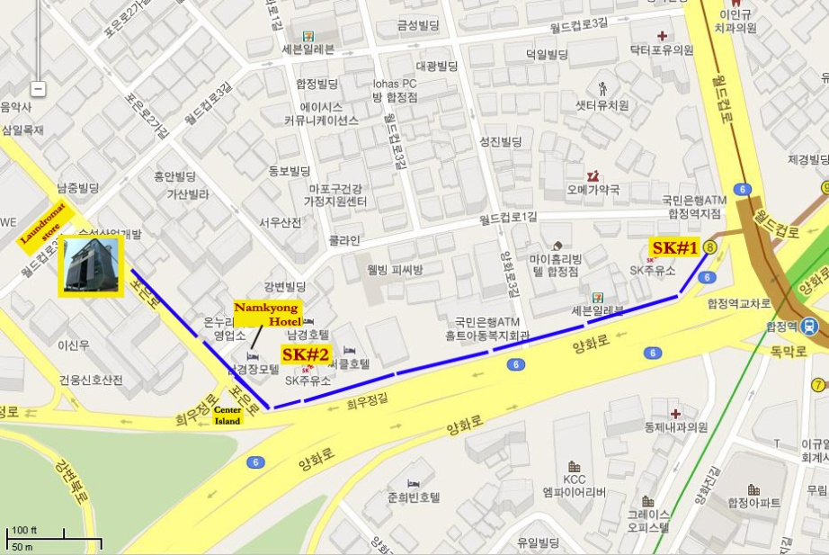 How to go to YG Entertainment's building - Map and Directions