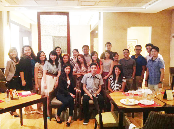 20 people - EDSA Shangri-la The Heat