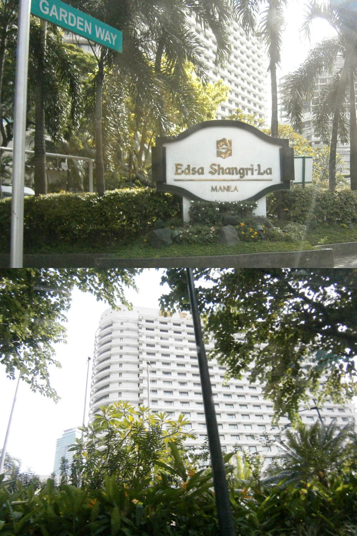 EDSA Shangri-La Manila exterior - Manila, Philippines