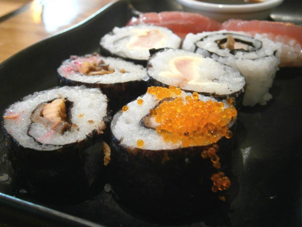 Sushi-ness and sashimi - Heat, EDSA Shangri-la, Mandaluyong City Philippines