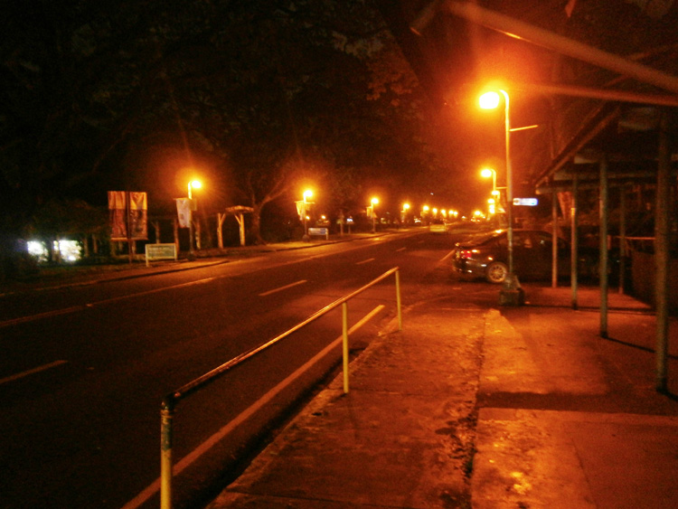 UP Diliman Acad Oval Night