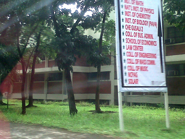 UPCAT UP Diliman Buildings - UPCAT 2012