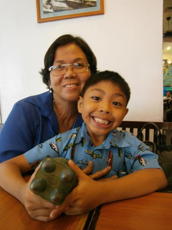 Mama and BBB --- Birthday Boy Brandon