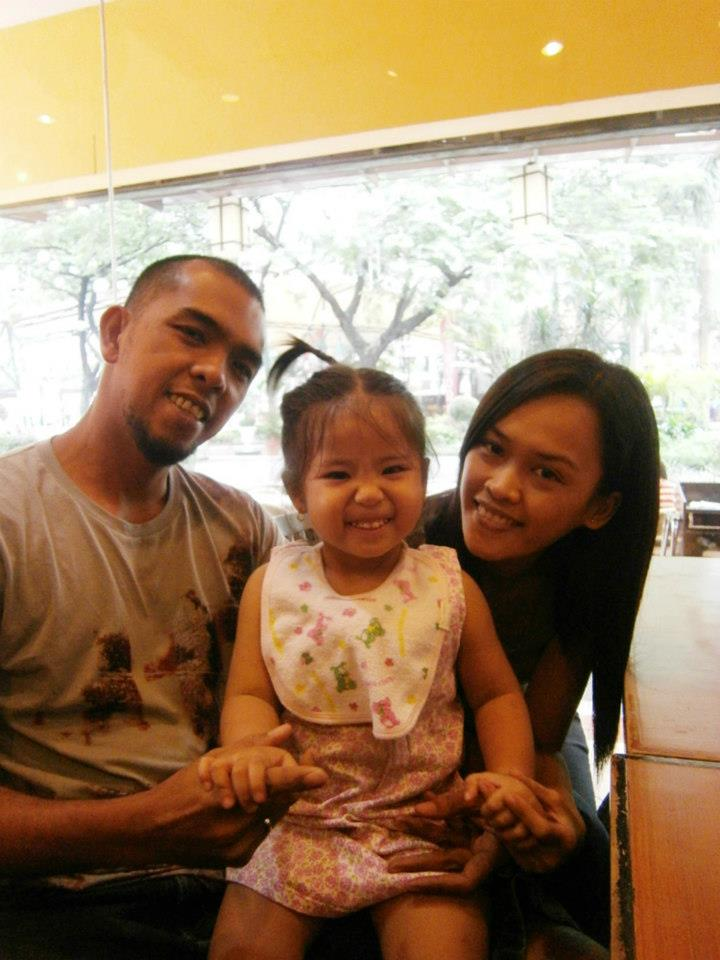 My brother, my niece and my brother's girlfriend