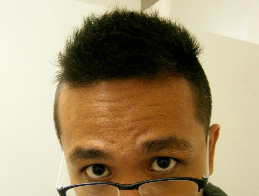 Back to my old haircut - Ménage Salon, Gateway Mall, Cubao
