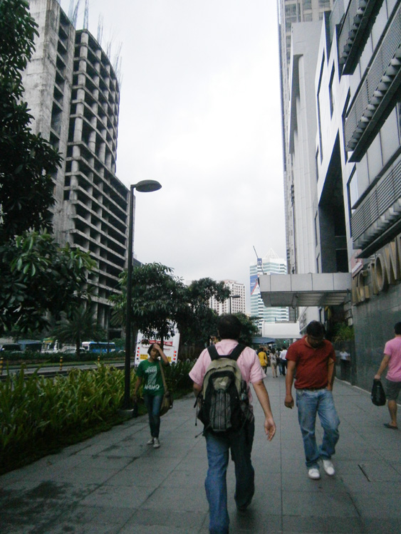 Cloudy with a chance of rain - Ayala Avenue, Makati City