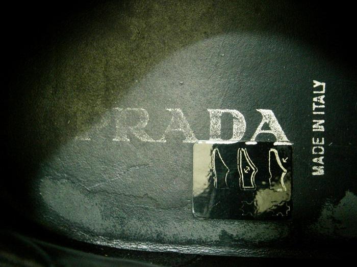 Insole - Prada Leather Laceups - Manila, Philippines