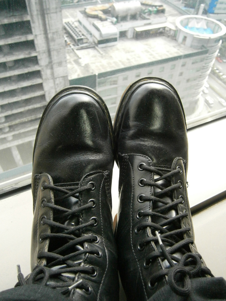 New-to-me Black 8-hole Doc Martens - Manila, Philippines