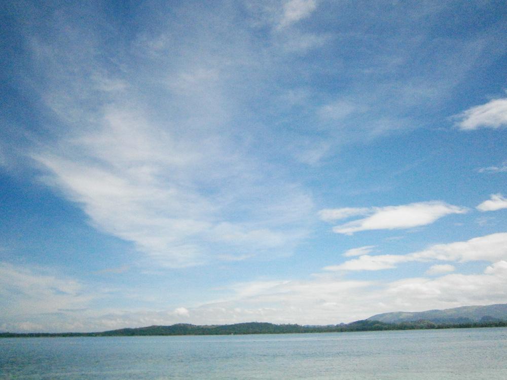 Perfect blue skies - Potipot Island, Zambales