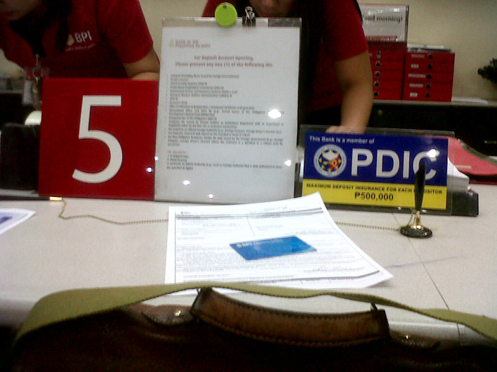 Requesting for a bank certificate BPI - Gateway Mall, Cubao