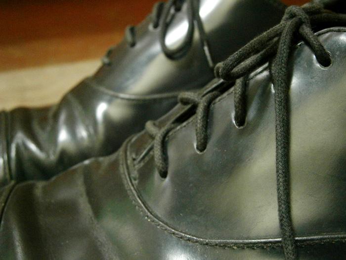 Shoelaces - Prada Leather Laceups - Manila, Philippines