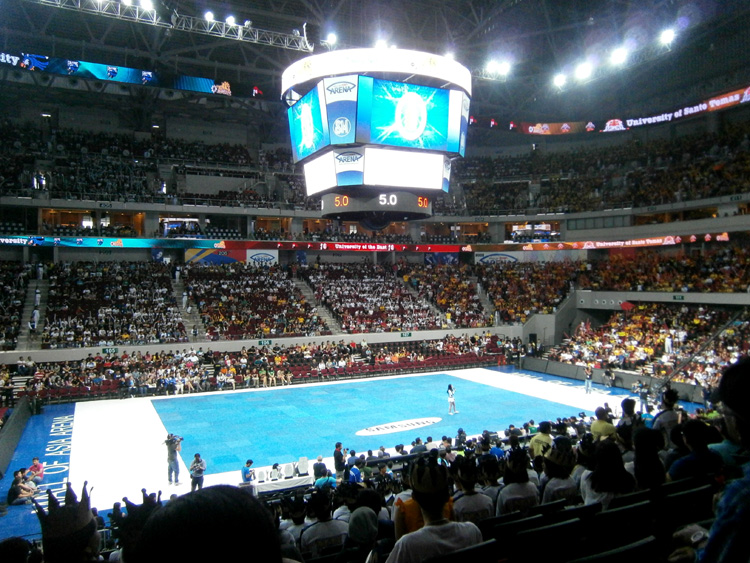 The Arena - SM Mall of Asia - 2012 UAAP Cheerdance Competition