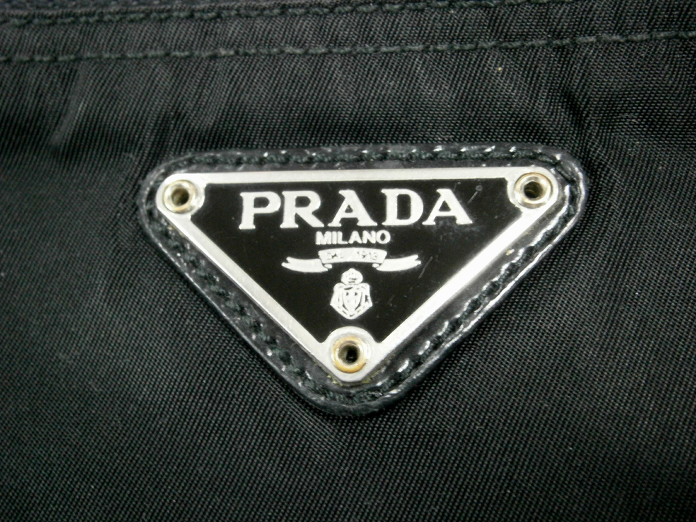 Black Prada Tessuto Zipped Pouch - Triangle Logo - Manila, Philippines