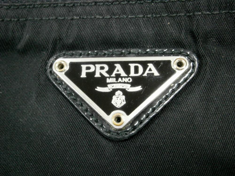 Black Prada Tessuto Zipped Pouch - Triangle Logo - Manila, Philippines