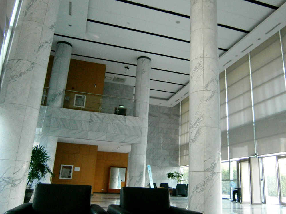 Chancery lobby - Embassy of the Republic of Korea in the Philippines - McKinley Hill