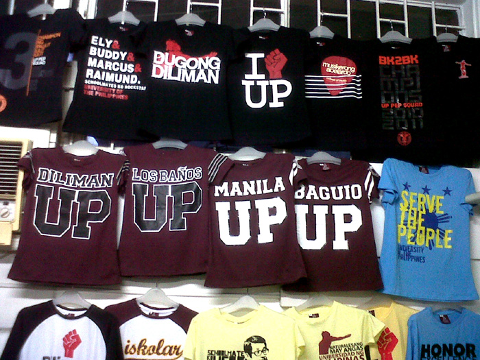 Diliman Republic items from UP Shopping Center - UP DILIMAN