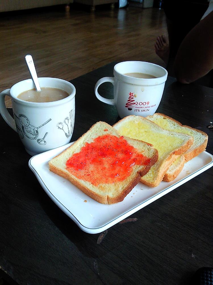 """Free Breakfast from """"Guesthouse in Korea"""" - Jongno, Seoul, South Korea"""