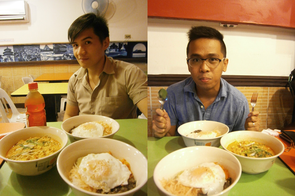 Mandatory picture with the food - Mashitta, Shopping Center, UP Diliman