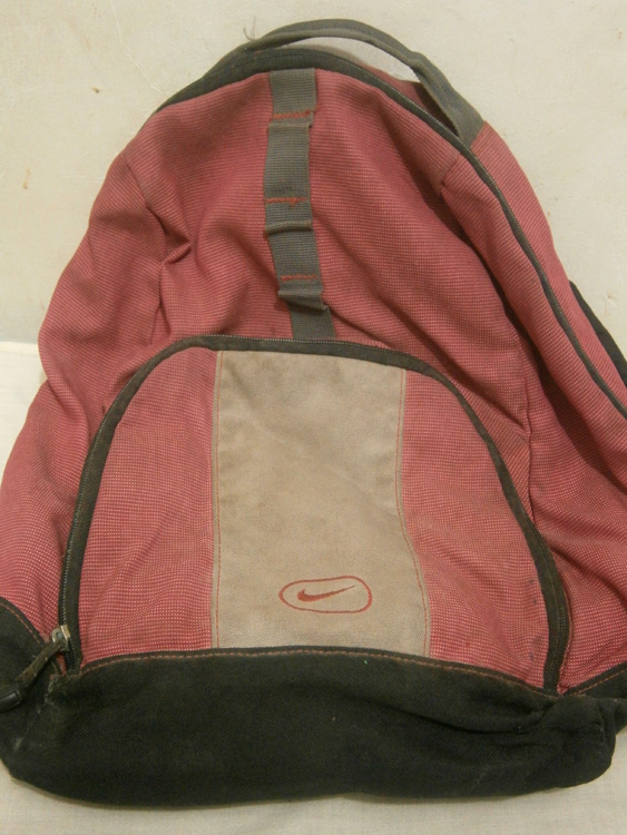 My old Nike backpack from college
