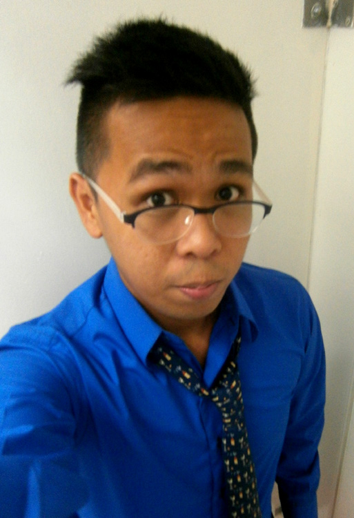 Royal Blue Longsleeves and blue Cocks and Clocks Hermès Necktie - Manila, Philippines