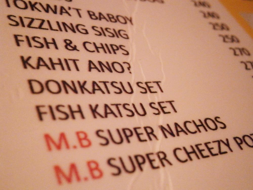 Their 'Kahit ano' on the menu - Music Bank, Diosdado Macapagal Avenue