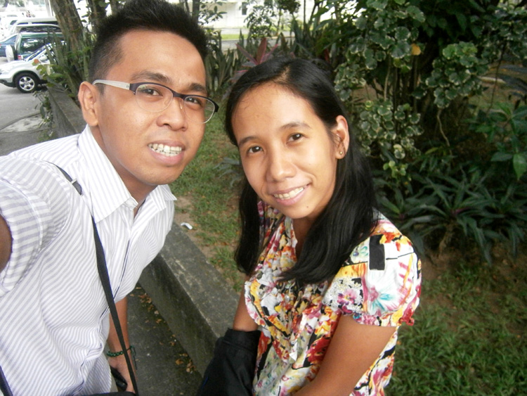With Tin in Asian Center - UP Diliman
