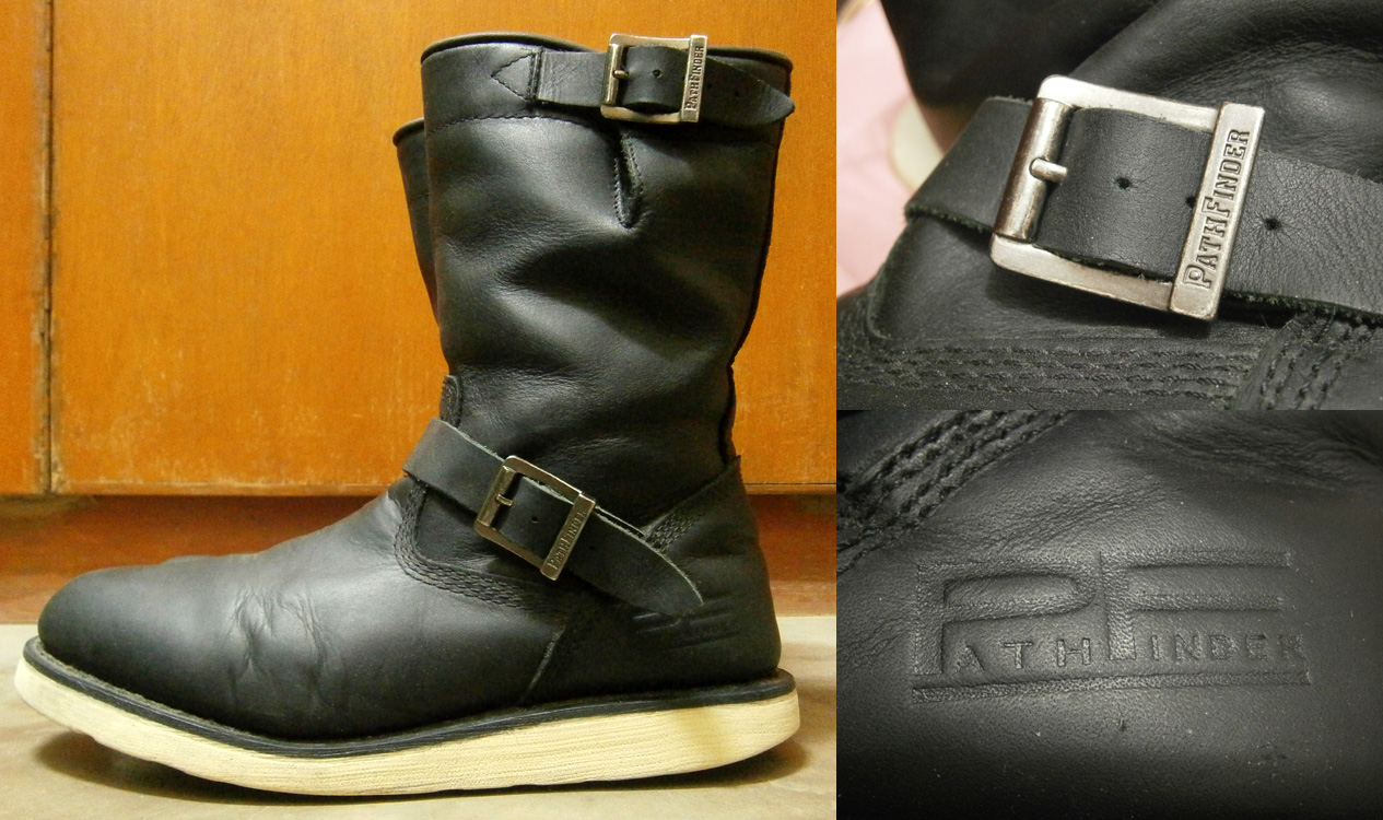 Black PathFinder PF 8902 boots - shoes