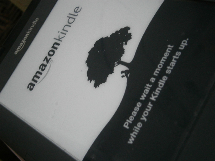 Kindle 3G update almost finished
